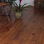historic Southern Yellow Pine hardwood floor