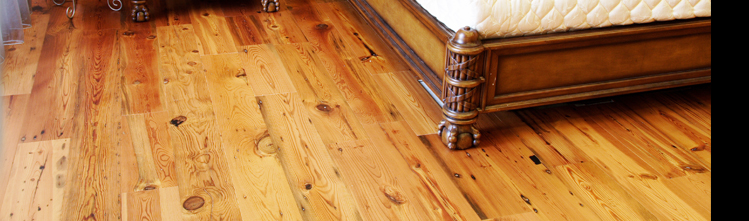 Distressed Oil Finished Wide Plank Ua Hardwood Floors At Through